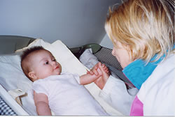 Mom and Amelia, 2004