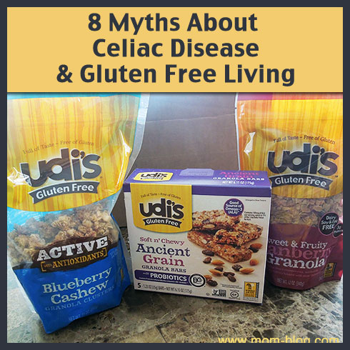 8 myths about celiac disease and gluten free life