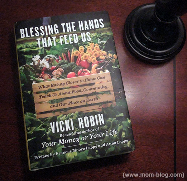 Blessing the hands that feed us book