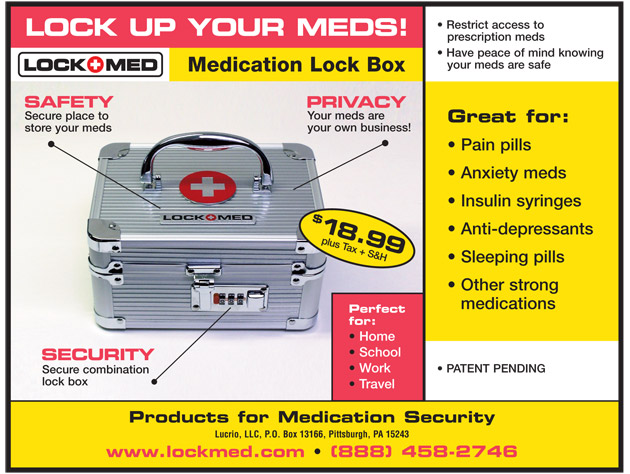 LockMed Medication Lock Box - Embracing Imperfect