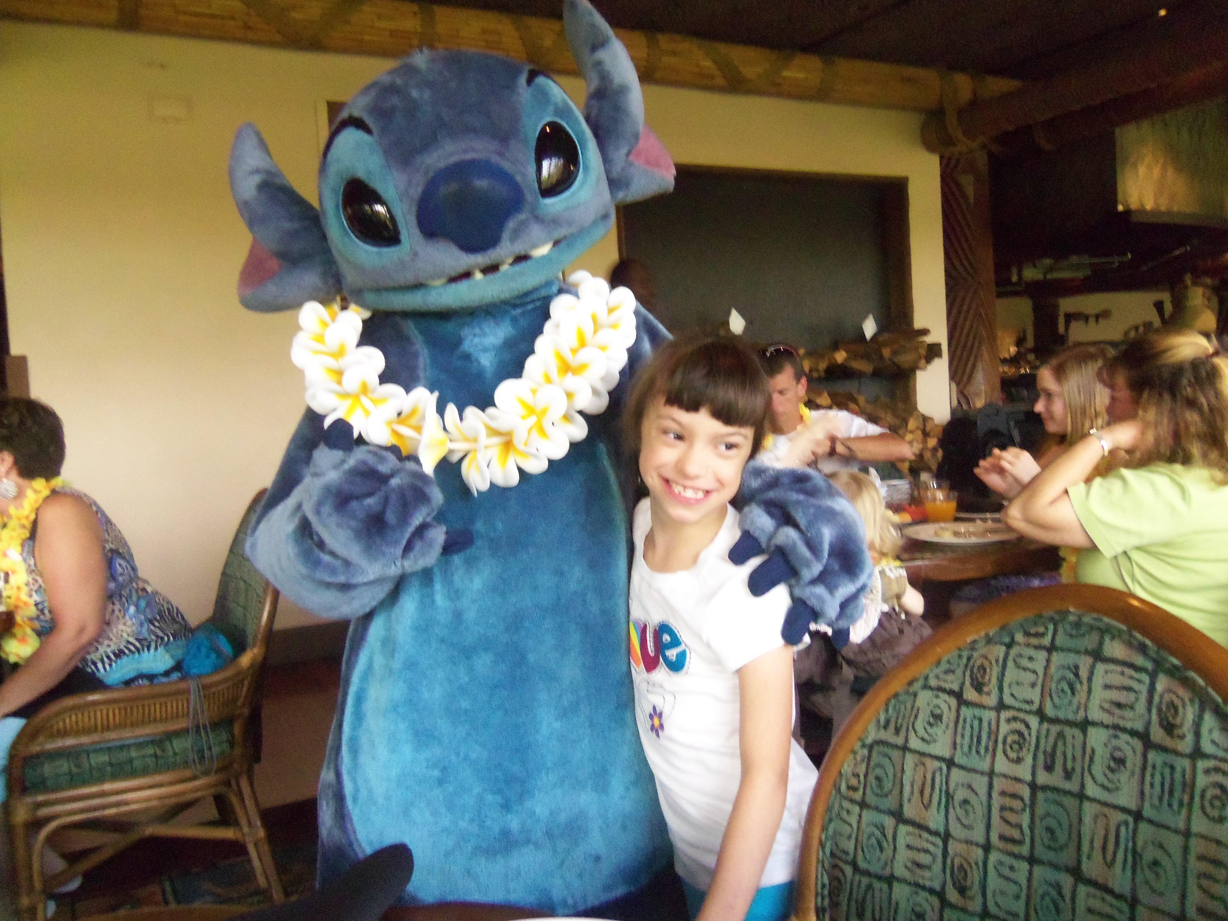 ohana disney world characters meet