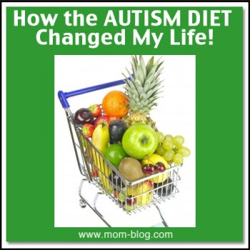 autism diet produce in cart