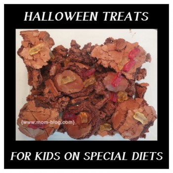 Gluten, Dairy, Soy and Corn Free Halloween Graveyard Candy Cake