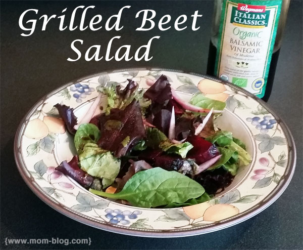 Healthy & Tasty Side Dish: Grilled Beets Salad #LetsGrill