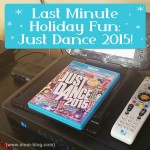 LAST Minute Fun Stocking Stuffer: Just Dance 2015