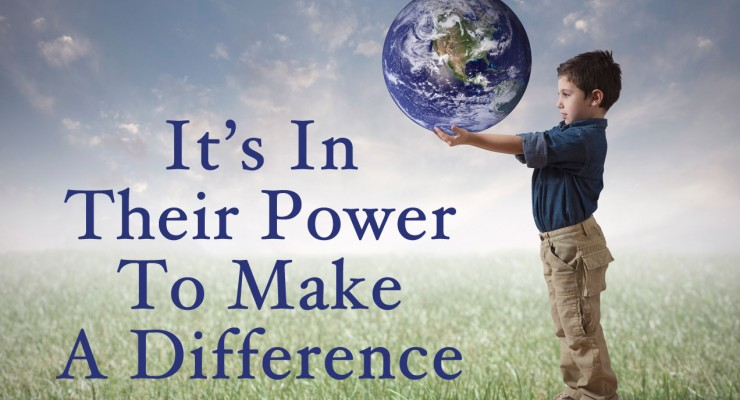 You Have the Power to Save Others – TODAY #YourPower