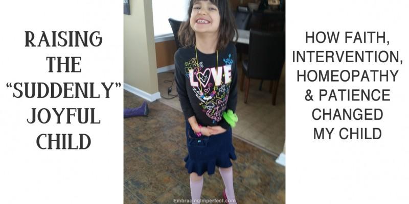 joyful child with autism