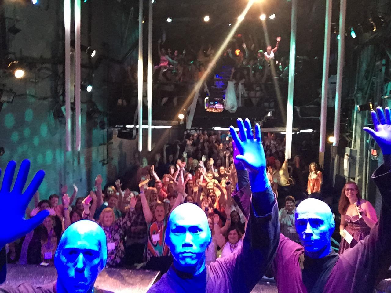 BLUE MAN GROUP - THE CURRENT LYRICS