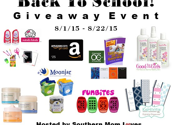 Win Big at the Back to School Giveaway Event!