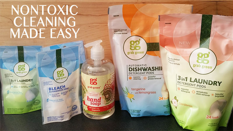 nontoxic cleaning products