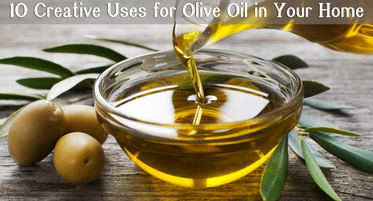 10 Creative Uses For Olive Oil in Your Home