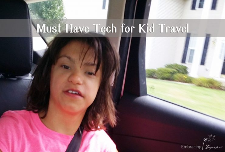 Must Have Tech for Traveling with Kids #travel #vacation #summer