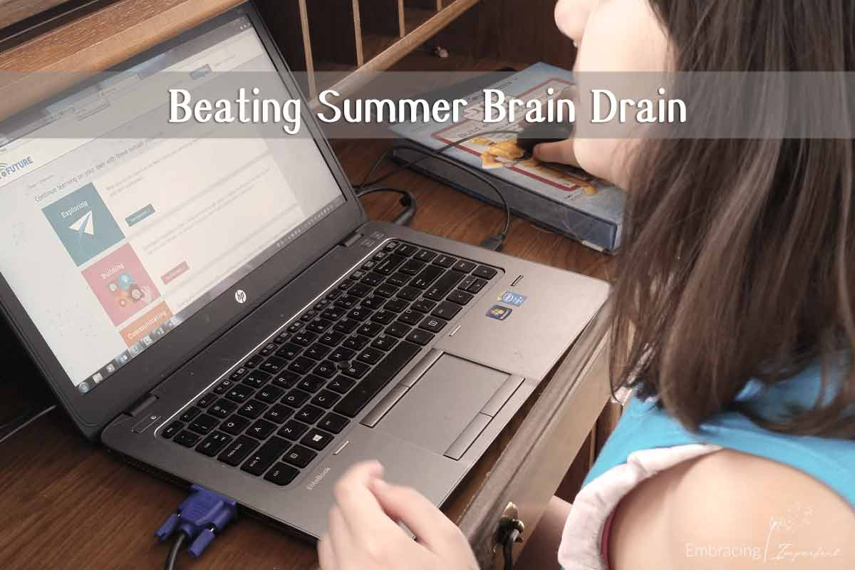 beat summer brain drain online