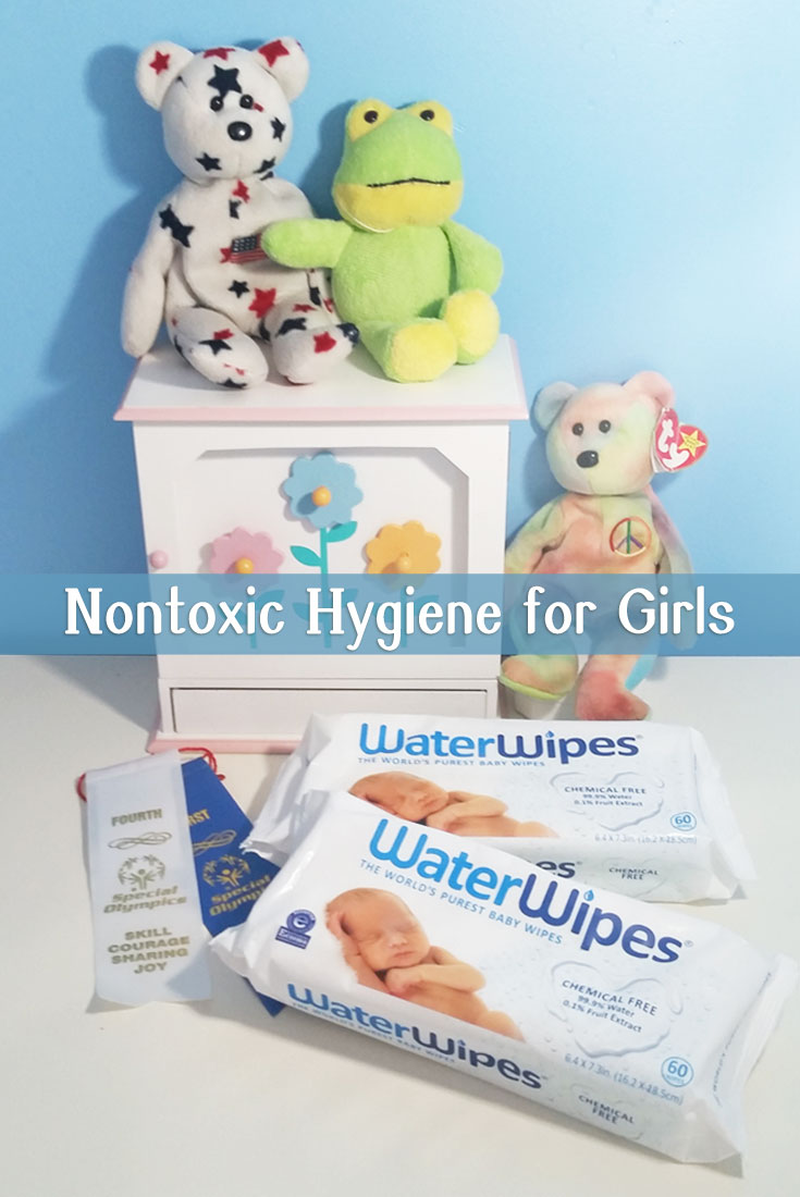 nontoxic baby wipes and hygiene for girls