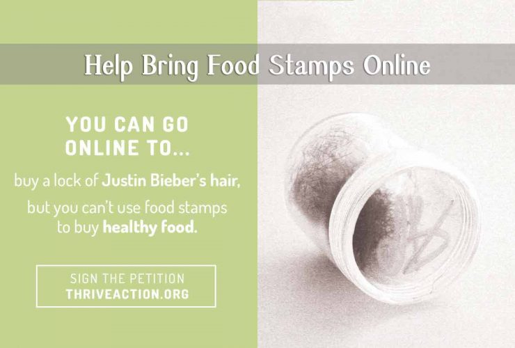 Online Food Stamps: Can It Happen?