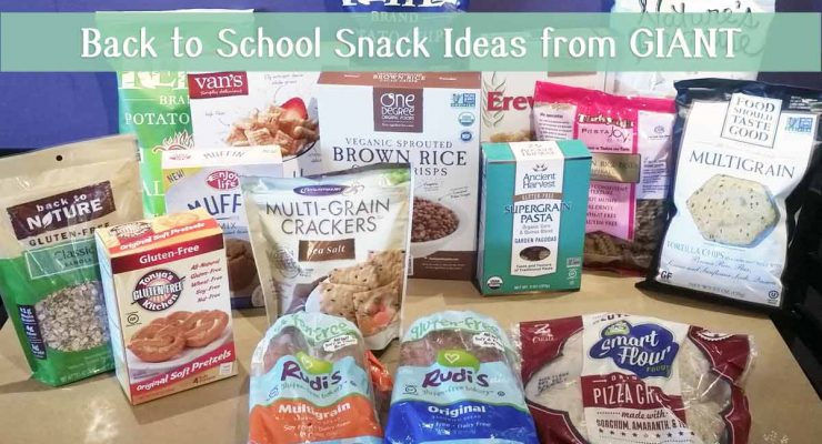 Back to School: Build a Better Lunch With GIANT Foods