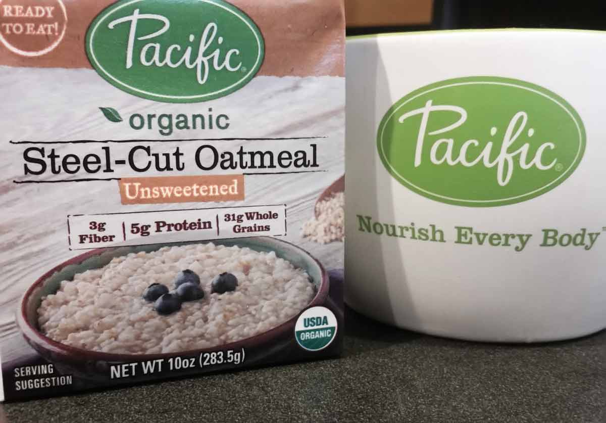 Pacific organic steel-cut oatmeal