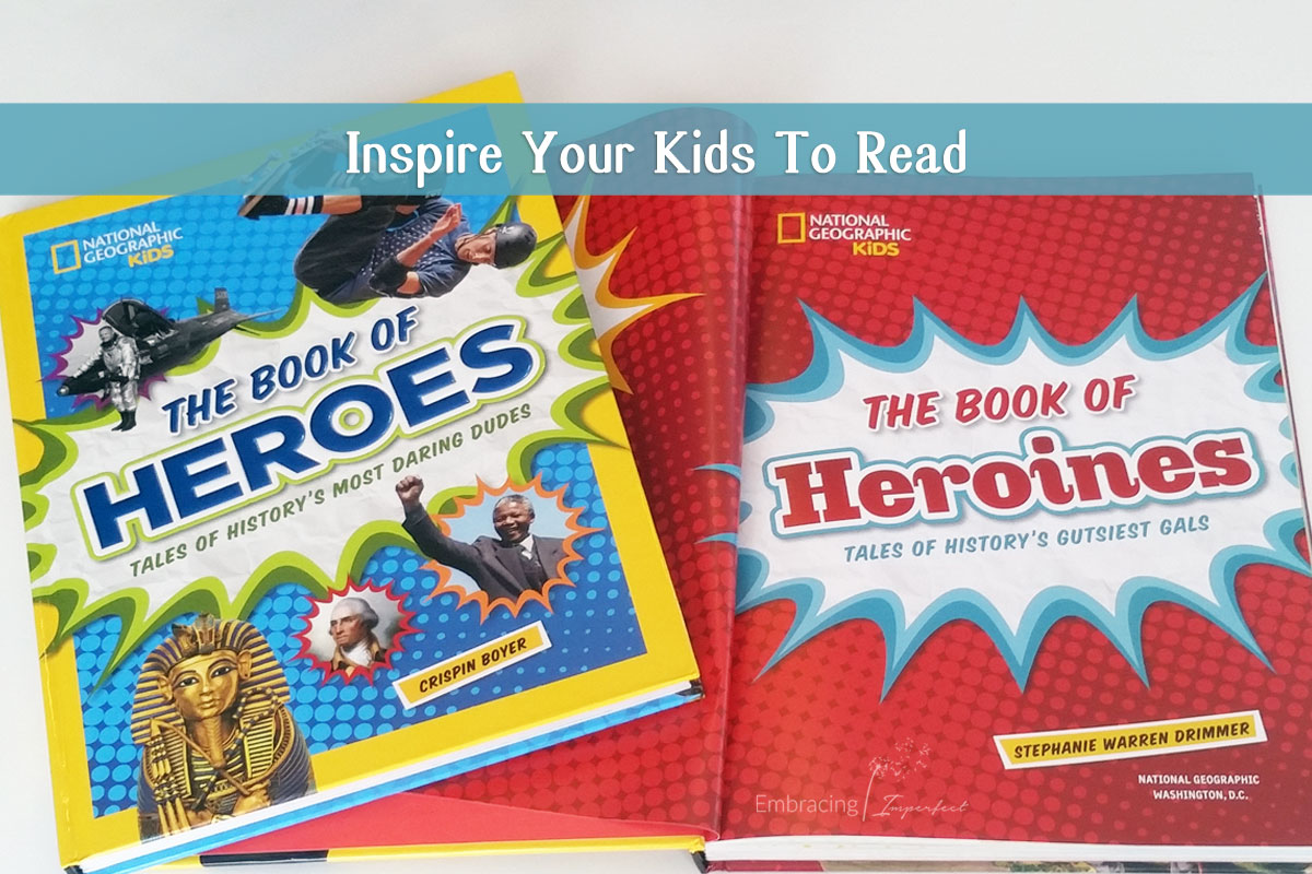 How to inspire kids to read