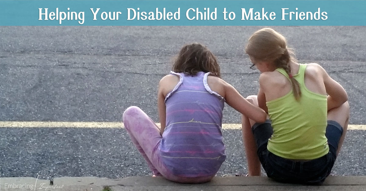 helping your disabled child make friends