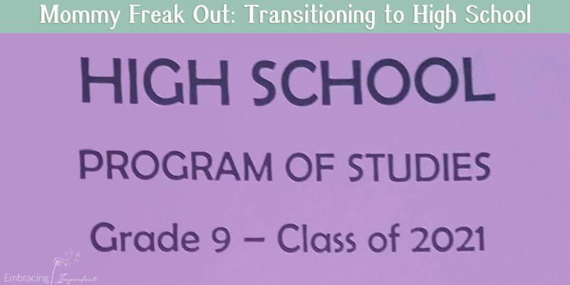 High school transition