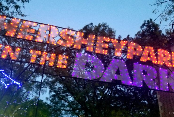 Hersheypark in The Dark: A Nice Break From Reality