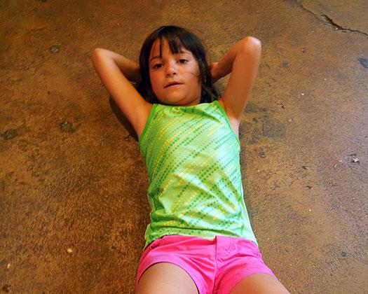 Zoe at IOA