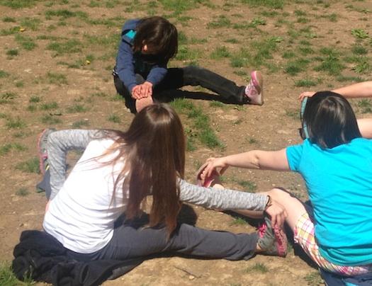 Amelia's stretch class