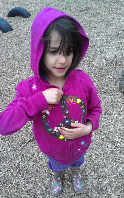 Zoe in Sweater