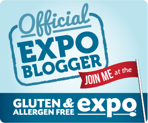 Gluten Free Expo Blogger Badge