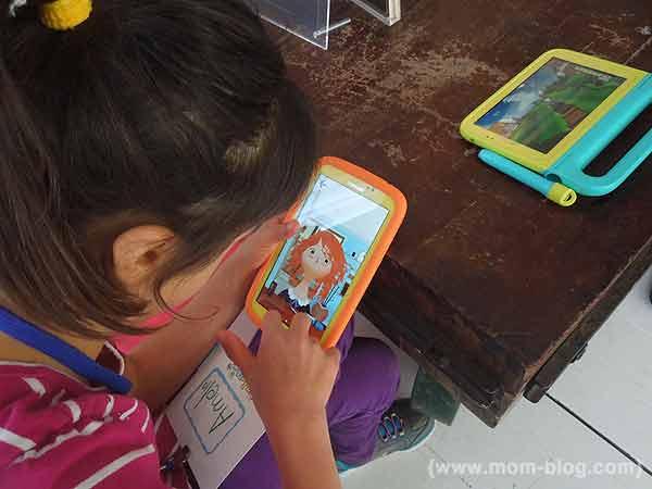 The Samsung Galaxy Tab 3 Kids Edition