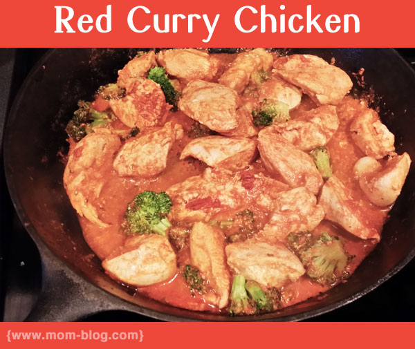 red- curry chicken recipe
