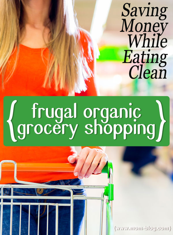 frugal organic grocery shopping
