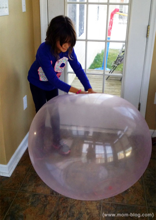 Girl with Wubble Ball