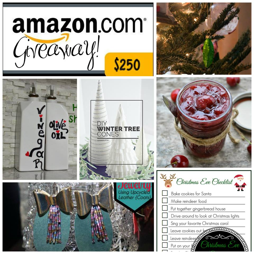 25 Blogs of Christmas Giveaway