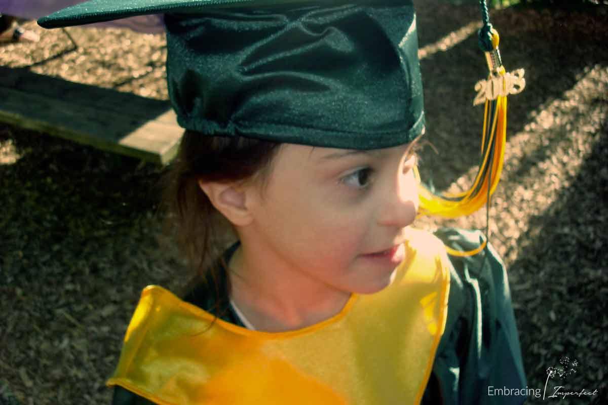 Amelia's preschool graduation in 2008.