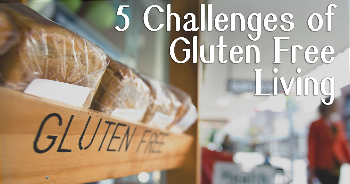 going gluten-free - the challenges
