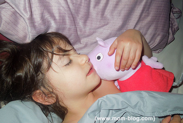 Zoe & Peppa Pig