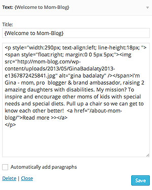 Basic HTML for Bloggers