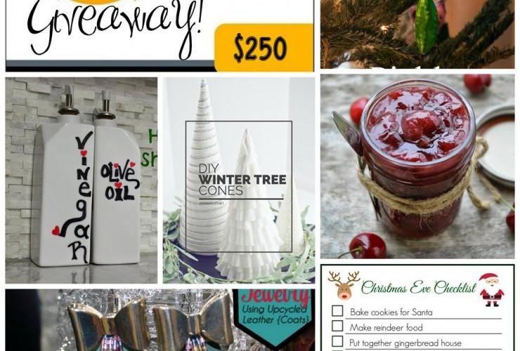 25 Blogs of Christmas $250 Amazon GC #Giveaway!