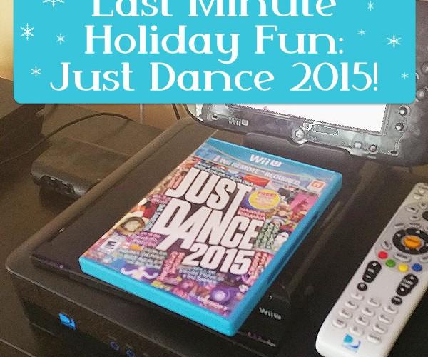 LAST Minute Fun Stocking Stuffer: Just Dance 2015