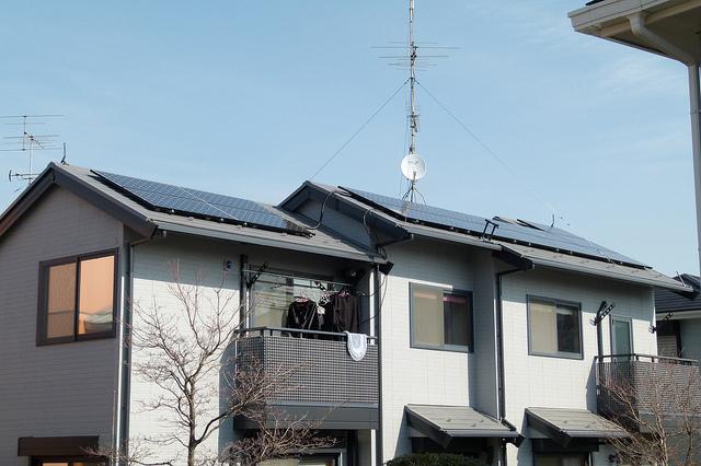 solar paneled home