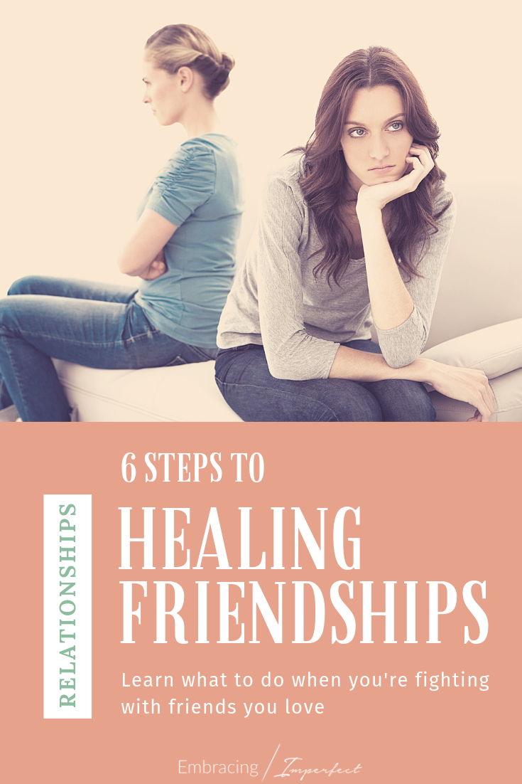 healing broken friendships