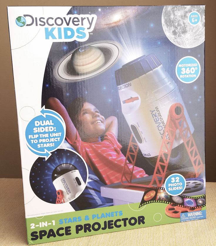 Discovery Kids space projector
