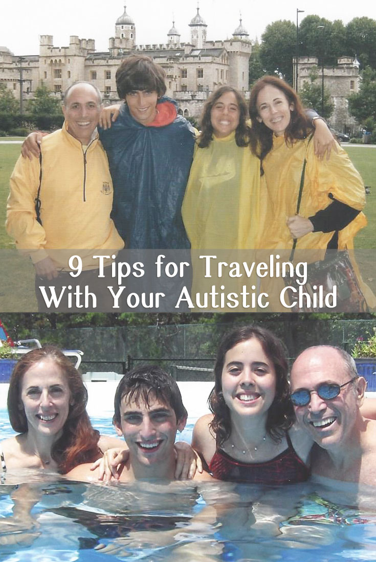 Traveling with your autistic child - 9 tips