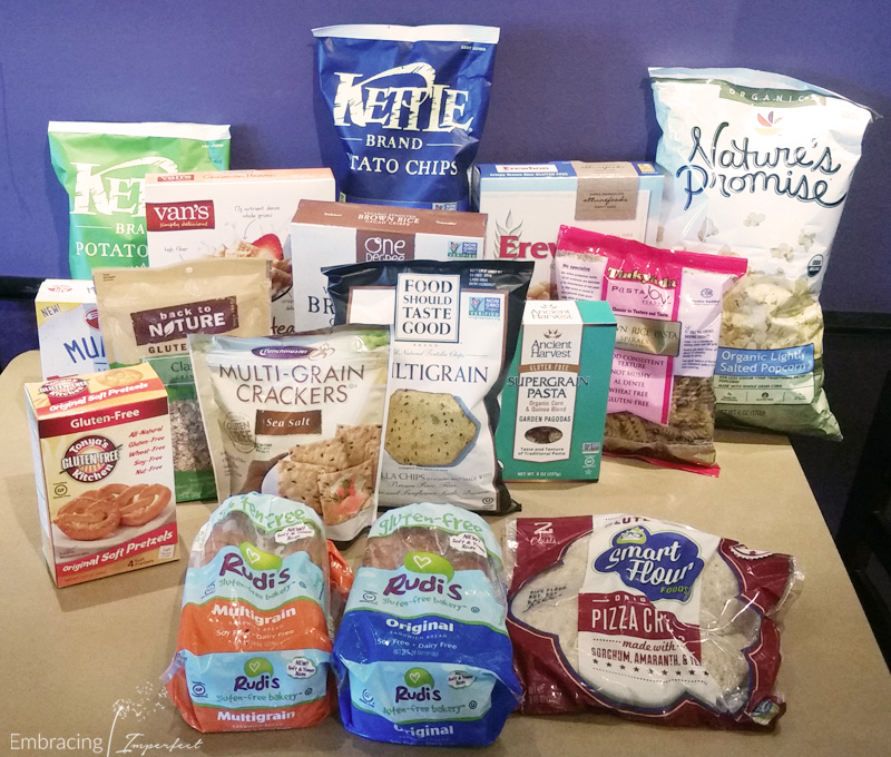 back to school lunch and snacks with grains