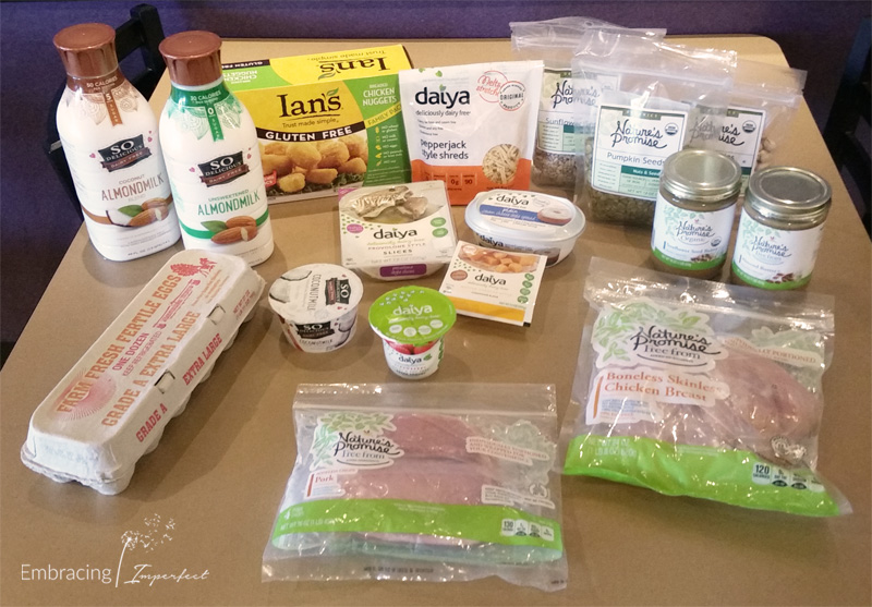 Gluten, dairy and soy free proteins for back to school meals
