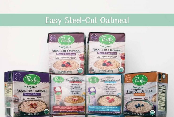 Pacific Organic Steel-Cut Oatmeal