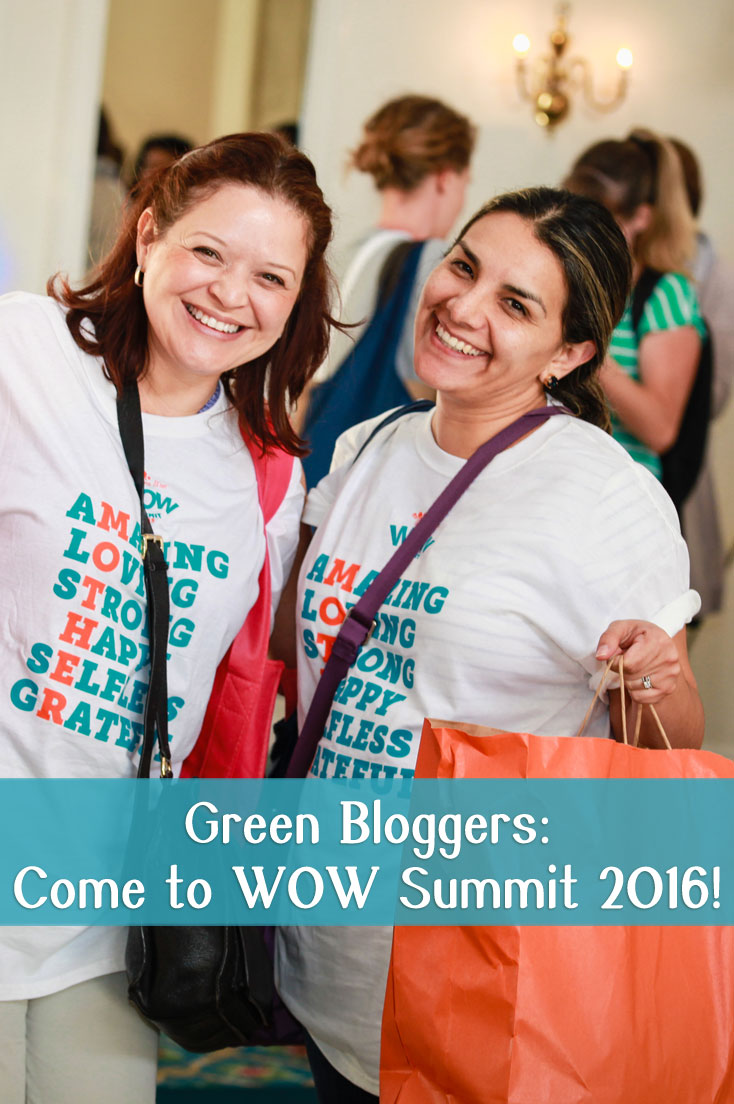 Win 2 tickets for WOW Summit, which brings together moms who want to live a greener life, brands that support them and amazing speakers who share wisdom on blogging and parenting! #WOWSummit  #ad