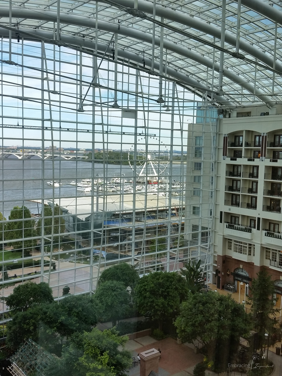 The beautiful Gaylord Resort at National Harbor hosted WOW summit 2016