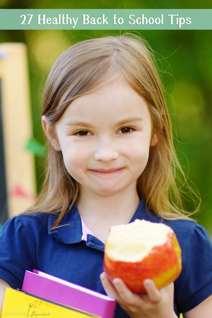 27 Green & Healthy Back to School tips from green mom blogger experts!